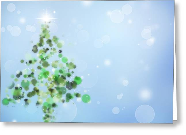 Christmas  Greeting Card by Les Cunliffe