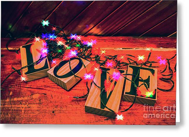 Christmas Love Decoration Greeting Card