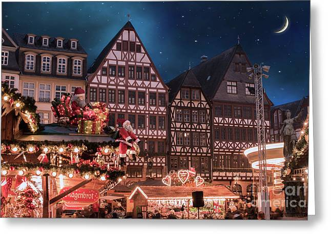 Christmas Market Greeting Card