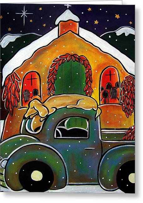 Christmas Mass Greeting Card