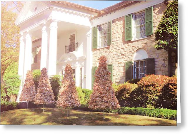 Christmas Morning At Graceland Greeting Card by JAMART Photography