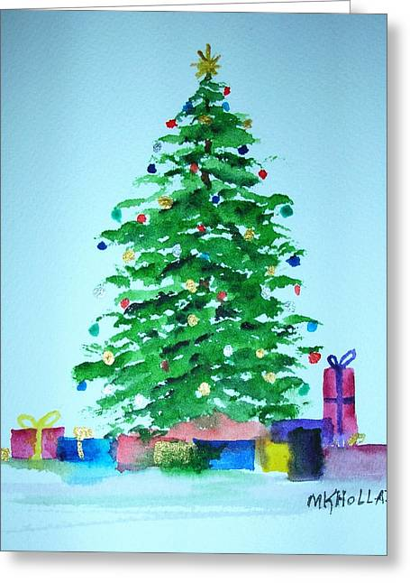 Christmas Morning Greeting Card