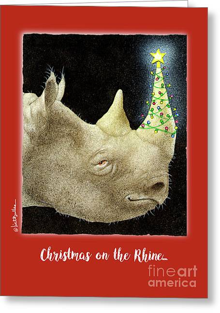 Christmas On The Rhine... Greeting Card