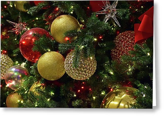Christmas Ornaments No. 3-1 Greeting Card