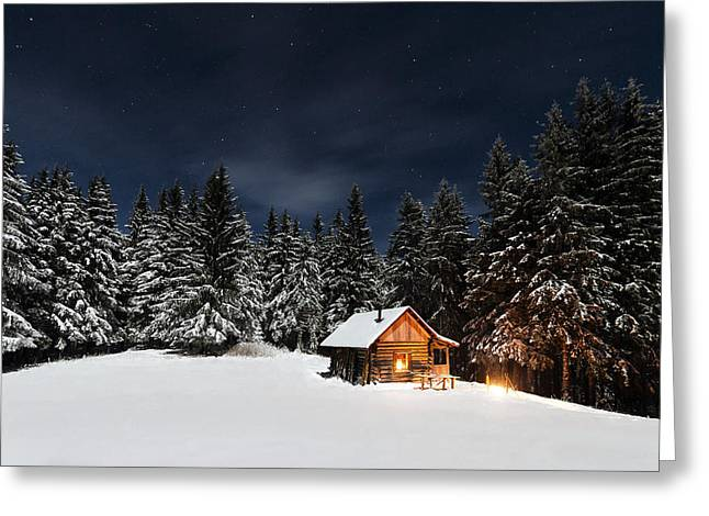 Christmas Greeting Card by Paul Itkin