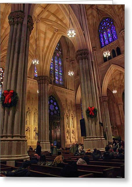 Christmas Prayers Greeting Card by Jessica Jenney