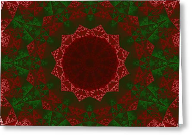 Christmas Quilt Greeting Card