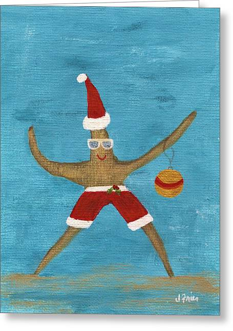 Christmas Starfish Greeting Card