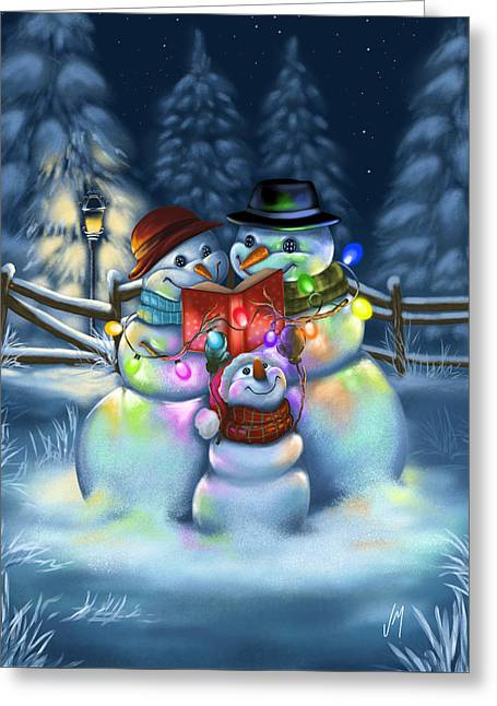 Christmas Stories Greeting Card