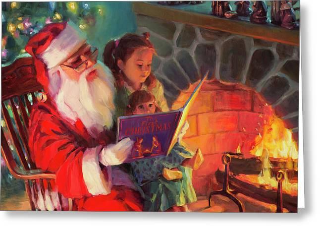 Christmas Story Greeting Card