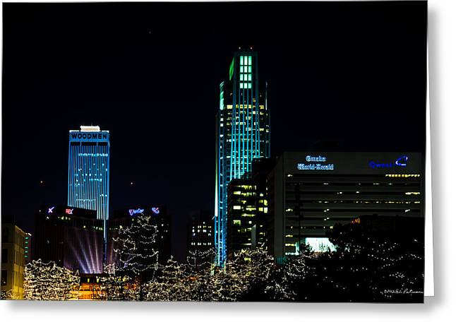 Christmas Time In Omaha Greeting Card