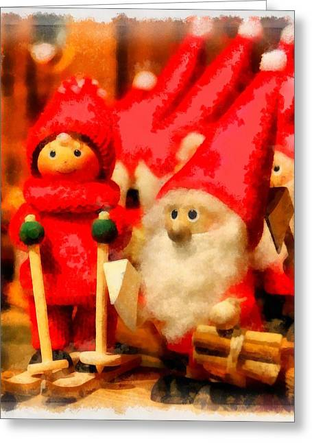Christmas Toys Greeting Card