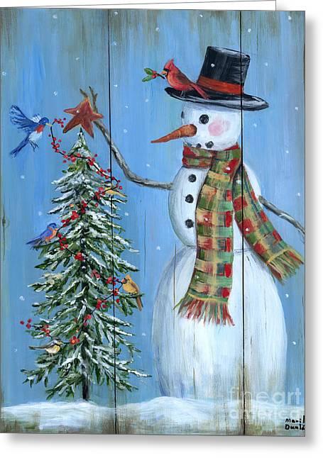 Christmas Tree Magic Greeting Card