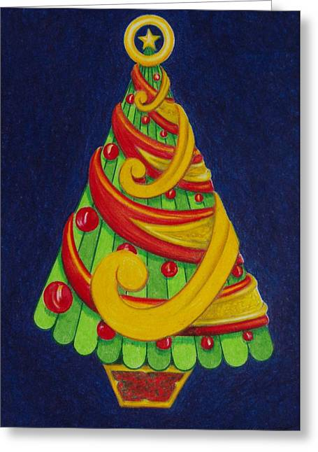 Christmas Tree No. Three Greeting Card