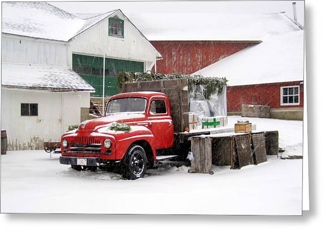 Christmas Truck 2010 Greeting Card