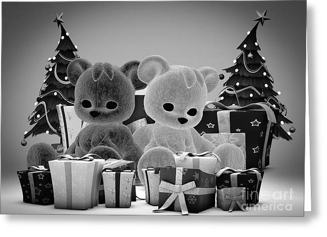 Christmas Wish Greeting Card by Alexander Butler