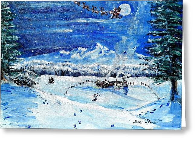 Christmas Wonderland Greeting Card by Shana Rowe Jackson
