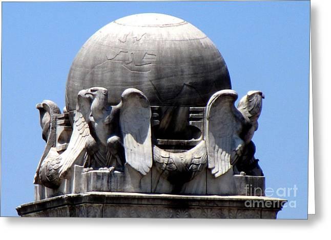 Christopher Columbus Memorial Fountain 3 Greeting Card