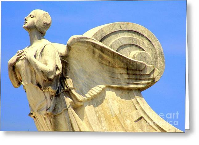 Christopher Columbus Memorial Fountain 5 Greeting Card