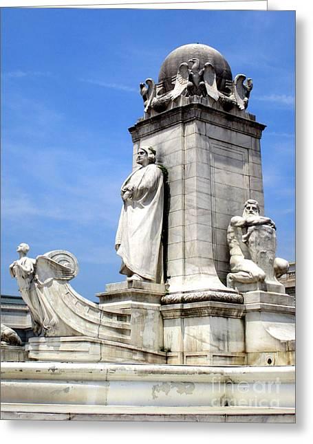 Christopher Columbus Memorial Fountain 7 Greeting Card