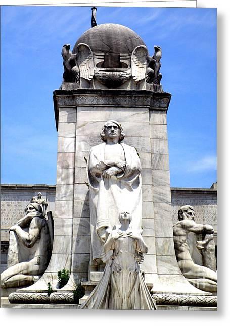 Christopher Columbus Memorial Fountain 8 Greeting Card