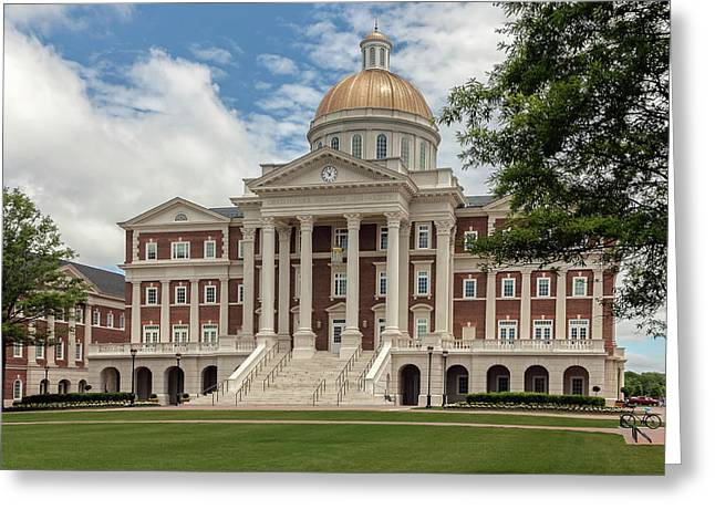Christopher Newport Hall Greeting Card