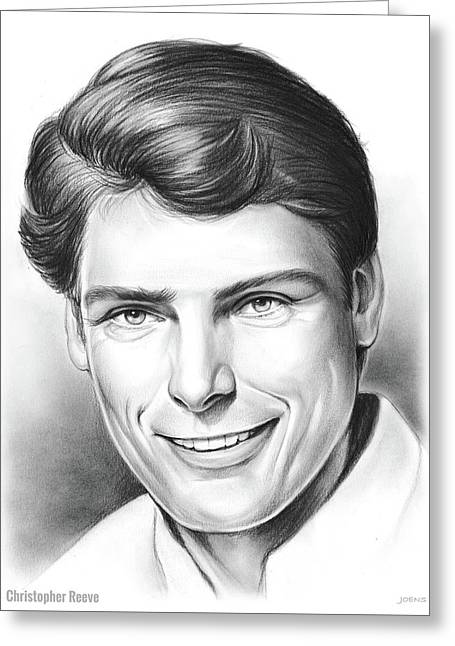 Christopher Reeve Greeting Card