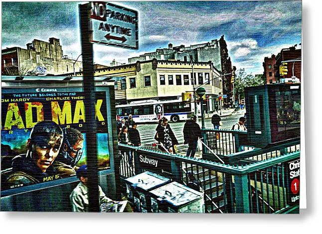 Christopher Street Greenwich Village  Greeting Card