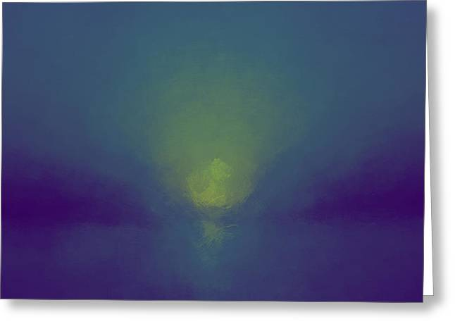 Chromatic Vision Greeting Card by Lonnie Christopher