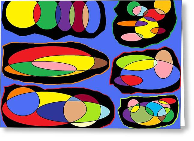 Chromosones Greeting Card by Justin West