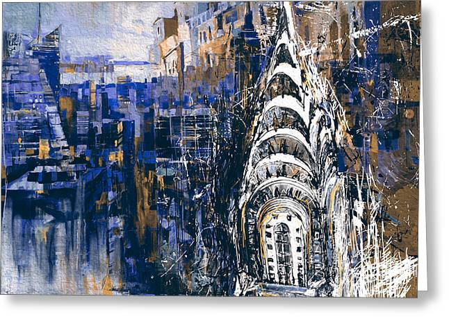 Chrysler Building 205 4  Greeting Card