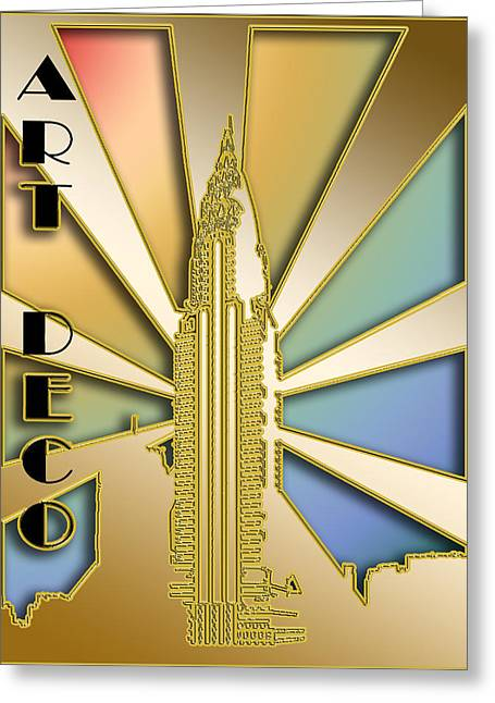 Chrysler Building - Chuck Staley Greeting Card