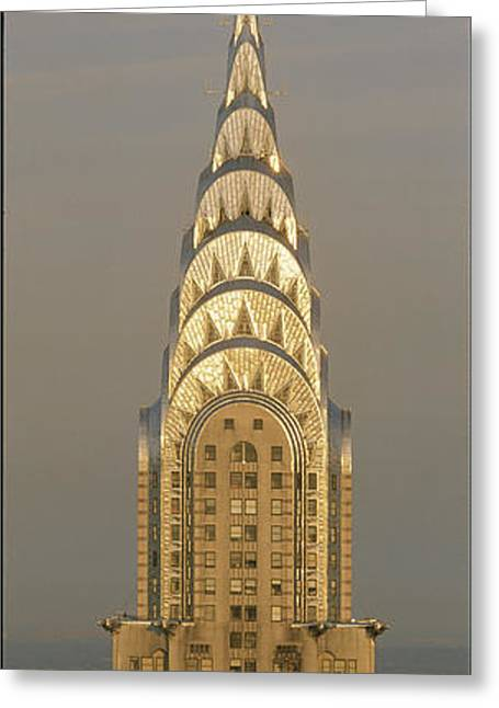 Chrysler Building New York Ny Greeting Card by Panoramic Images