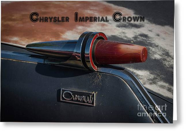 Chrysler Imperial Greeting Card by Janice Rae Pariza