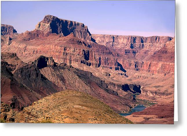 Chuar Butte  Grand Canyon National Park Greeting Card