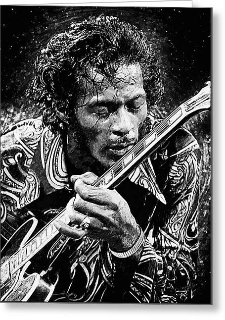 Chuck Berry Greeting Card