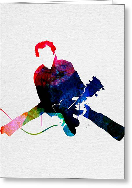 Chuck Watercolor Greeting Card