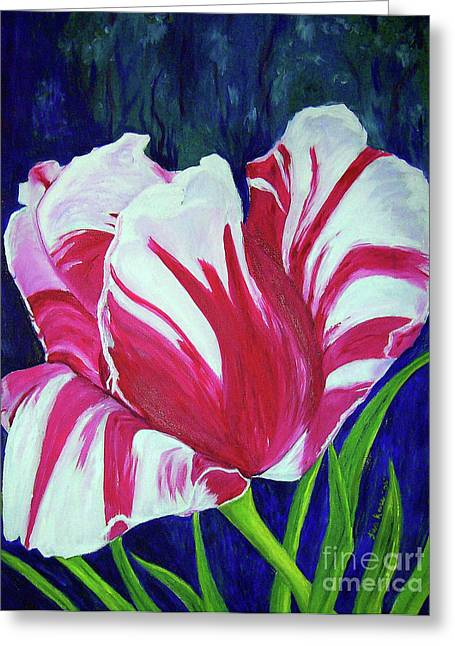 Chucks Tulip Greeting Card