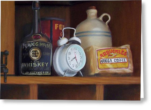 Clock Pastels Greeting Cards - Chuckwagon Essentials Greeting Card by Marcus Moller
