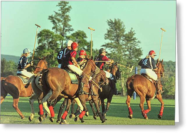 Chukker Team Greeting Card by JAMART Photography