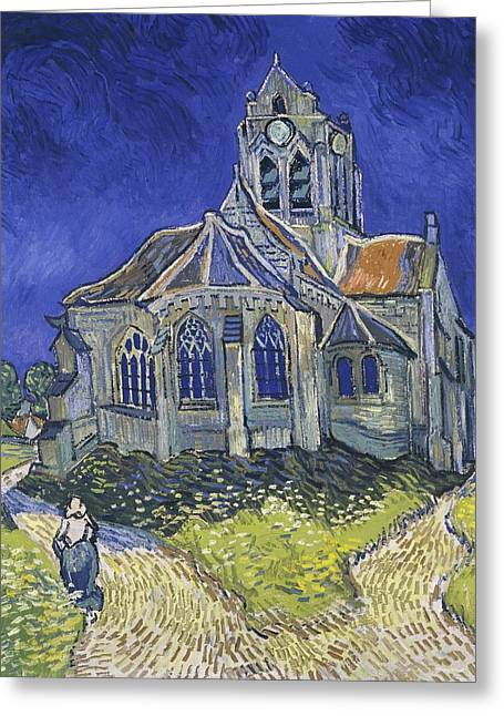 Church At Auvers Greeting Card by Vincent van Gogh