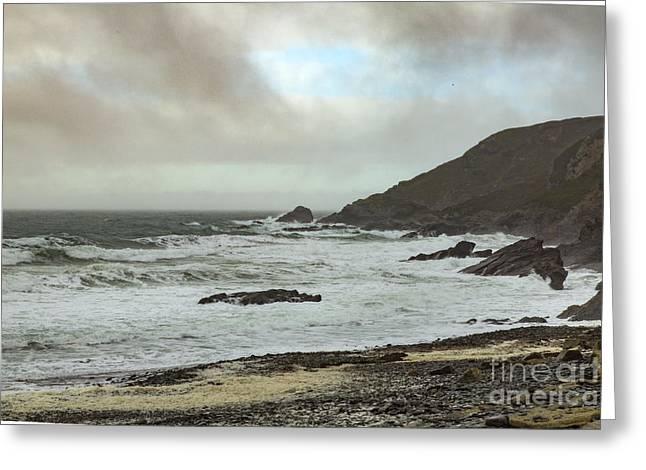 Greeting Card featuring the photograph Church Cove Gunwallow by Brian Roscorla