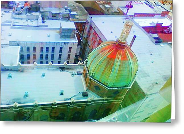 Church Dome II Greeting Card