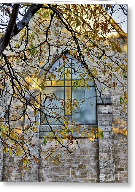 Church Ghost Greeting Card