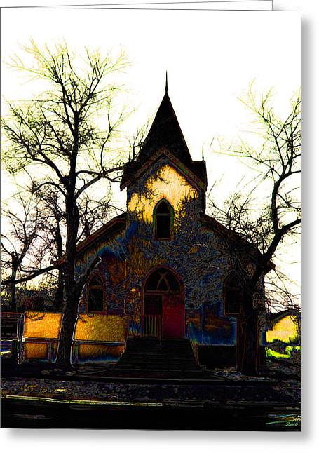 Church I Greeting Card by Stuart Turnbull