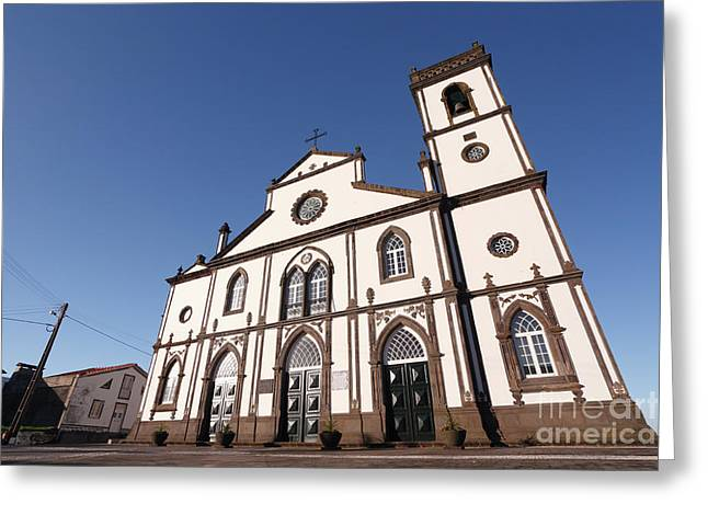 Church In Azores Islands Greeting Card by Gaspar Avila