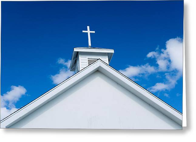 Church In Bahamas Greeting Card by Richard Steinberger