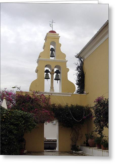 Church In Corfu Greeting Card