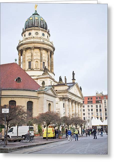 Church Of Friedrichstadt Greeting Card by Tom Gowanlock