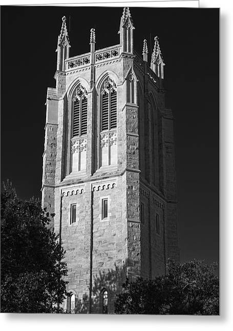 Church Of Heavenly Rest Bell Tower Greeting Card by Stephen Stookey